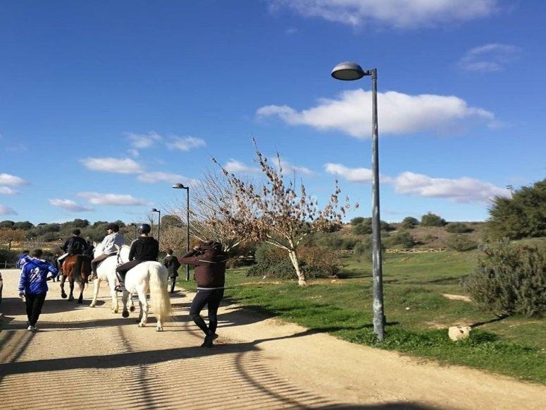 Paseo a caballo por finca