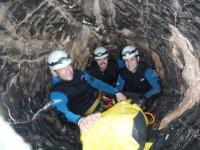 莱昂团队建设的洞穴学