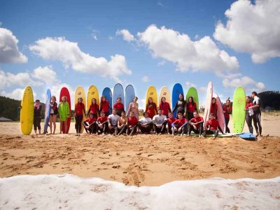 5-day Initiatory course to surfing in Viveiro