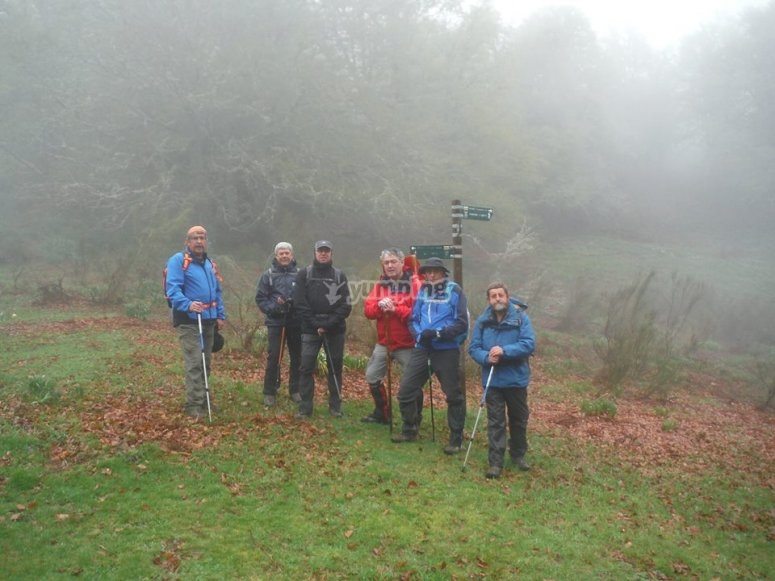 Hiking for team building