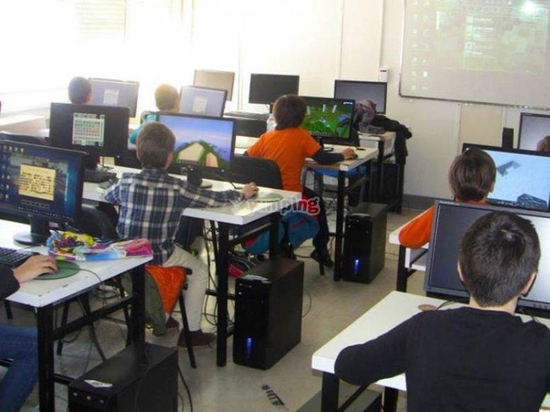 En los ordenadores