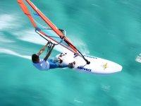 Windsurf a toda velocidad