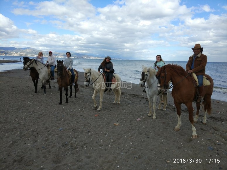 Horse riding tour in Torremolinos