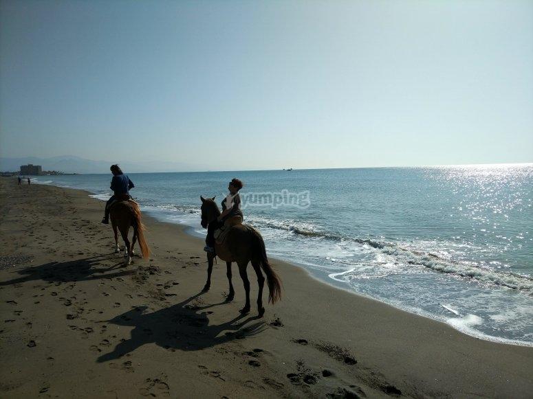 Día soleado en la playa