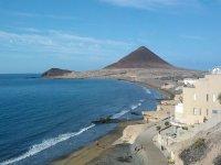 El Medano海滩。