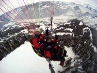 vuelo alta montaña
