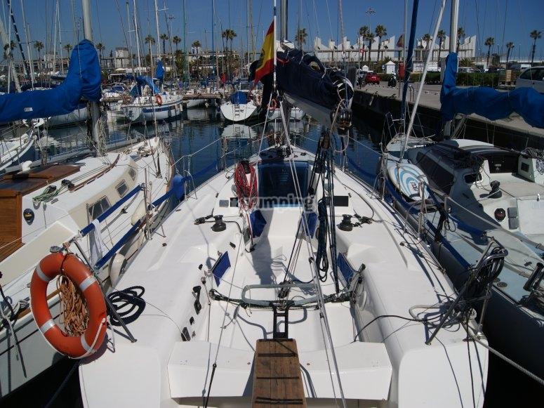 Nuestro barco el Pekas X