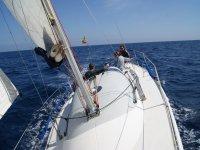 Navegando en Barcelona