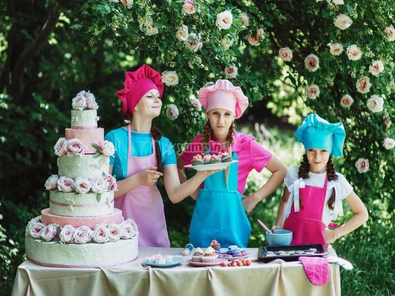 Una tarta espectacular