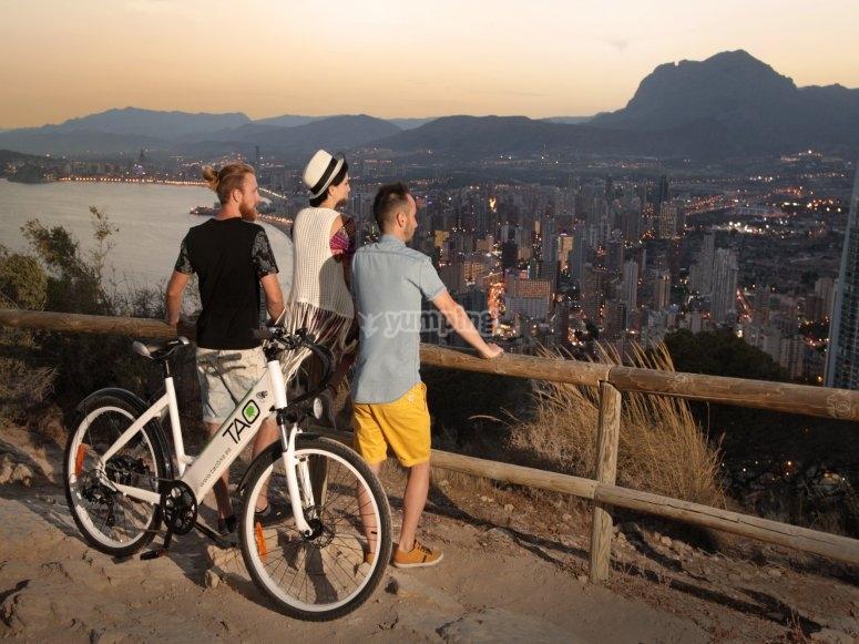 Bike trip in Benidorm