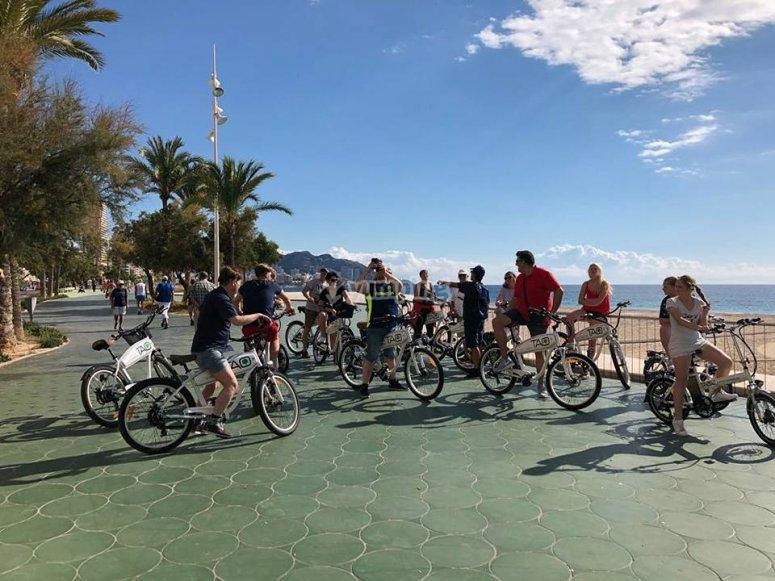 Electric bike Tour in Benidorm