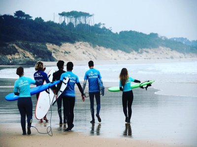 Surfing weekend in Loredo and accommodation