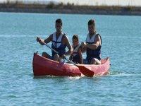 canoa de tres plazas