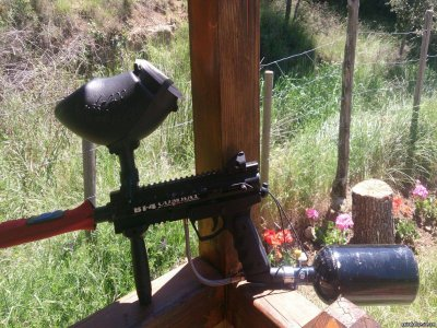 Paintball per scuole in Luesia e hamburger