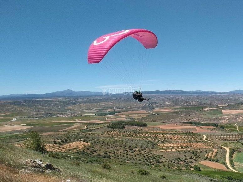 Paragliding experience in Guadalajara