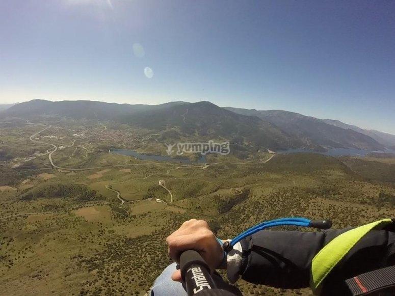 Paragliding recording