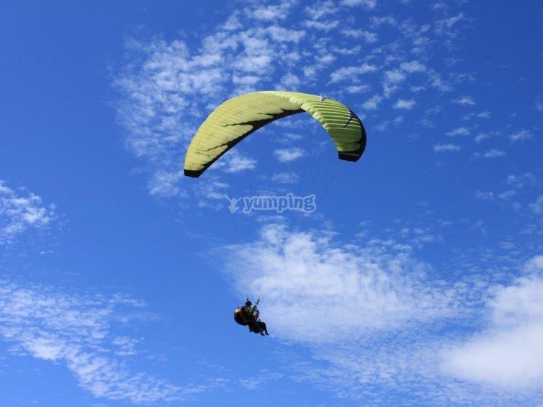 Paragliding in Avila