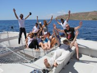 A great day trip on the catamaran