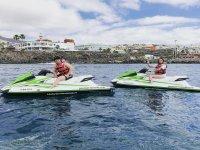 Ruta en moto de agua por Tenerife
