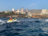 Conociendo Tenerife en moto de agua