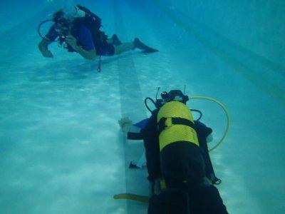 我在塔拉戈纳海岸潜水
