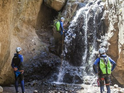 Canyoning and picnic in Gran Canaria 4 hours