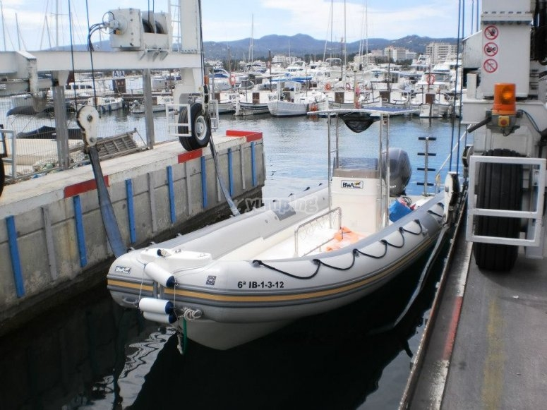 La embarcacion neumatica