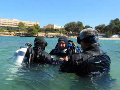 从船上潜水2次潜水福门特拉岛
