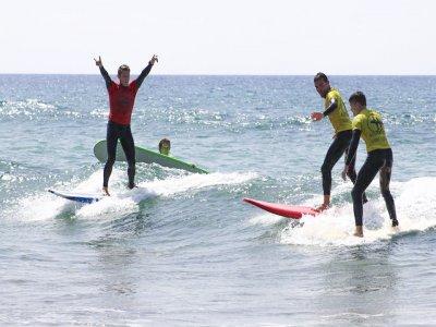 Clases de Surf en Maspalomas 4 horas