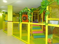 Jungle decorated playground
