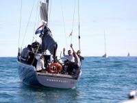 Navegando en la costa valenciana