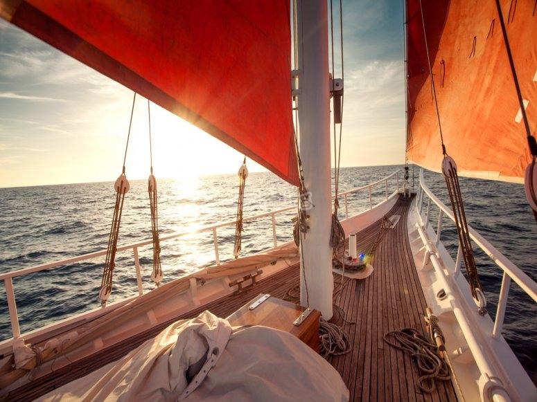 Cubierta del barco