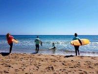 Surf excursions