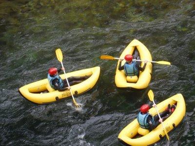 Descenso en canoa por el río Cares y Deva y picnic
