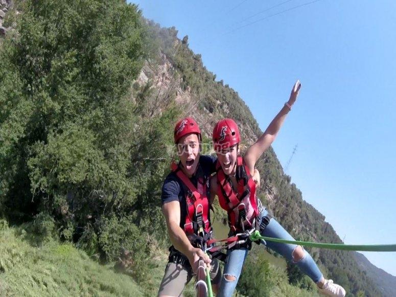 Bungee jumping in Montserrat