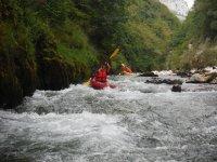 Canoas tramo río Cares-Deva con picini y fotos