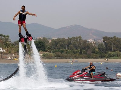 Jet and Fun Flyboard