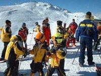Esquiadores de todas las edades