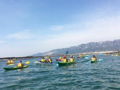 Percorso in kayak La baia di Mejilloneras e Alfacs