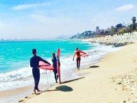 El Masnou冲浪课程4课时2小时