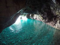 SUP in sea cave