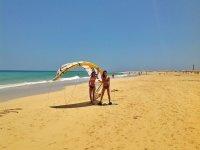 Sulle spiagge di Morro Jable