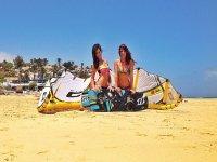 Vento, onde e kitesurf