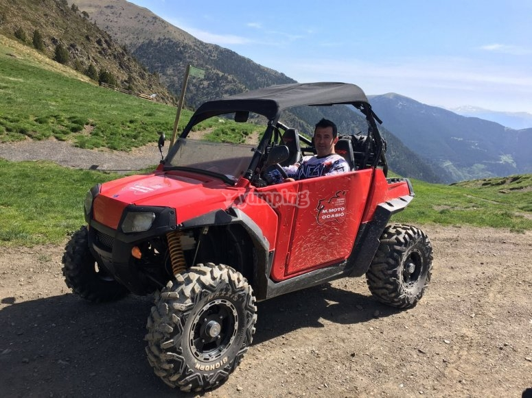 Buggy biplaza por Andorra