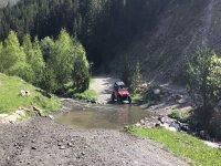 Buggy por camino de campo en Andorra