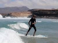 Pettina le onde a Fuerteventura