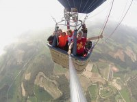 Selfie from the hot air balloon