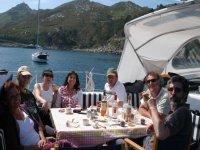 Food on deck
