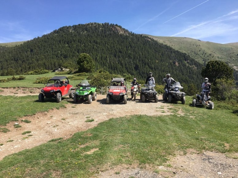 Quad bike on the Pyrenees in Andorra
