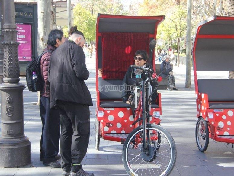 Conductor del triciclo